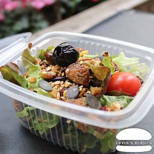 Salade Bio faite maison en livraison sur Perpignan.