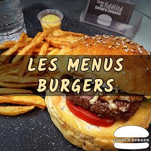 Menus Burgers Maison
