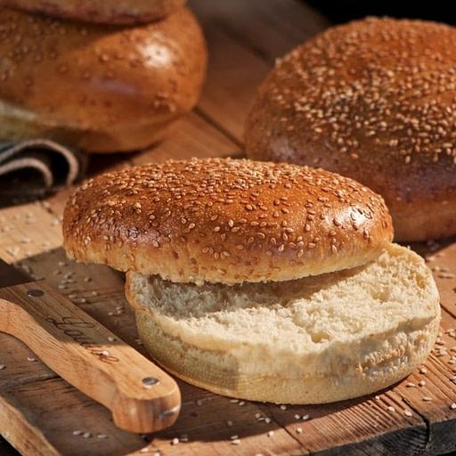 Pain Burger du Boulanger spécial Luvin's | Livraison Perpignan