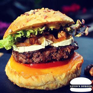 Le Mielleux Burger en livraison sur Perpignan.