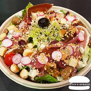 Salade Bio Serrano faite maison en livraison sur Perpignan