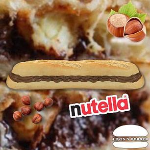 Panini au Nutella en livraison sur Perpignan.