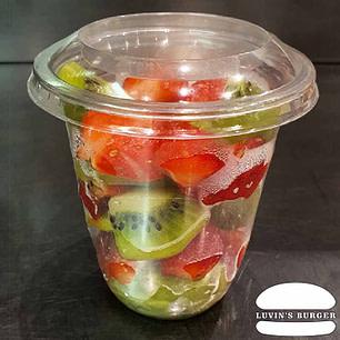 Salade de fruits bio de saison faite maison en livraison sur Perpignan.