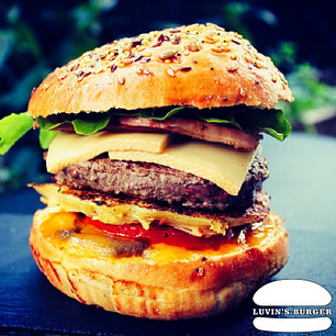 Le Montagnard Burger en livraison sur Perpignan.