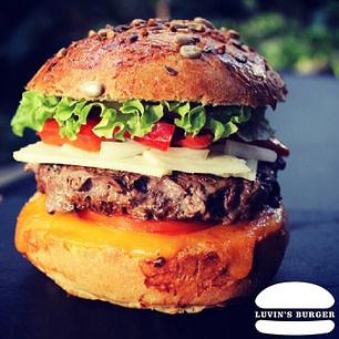 Le Catalan Burger de Luvin's Burger