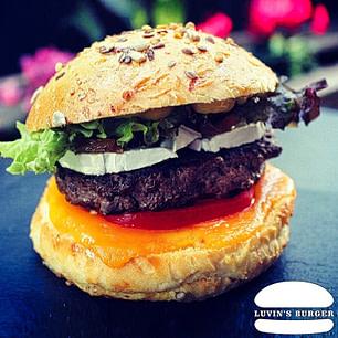 Le Caramelisé Hamburger | luvin's Burger